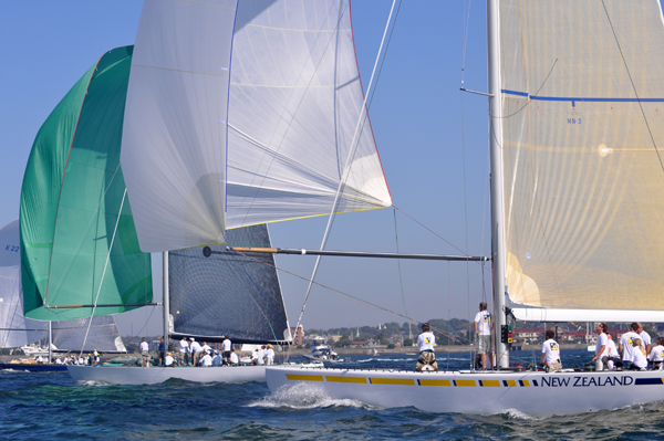 The 2014 12 Metre North American Championship was sailed on the famed America's Cup waters in Newport, Rhode Island (photo credit  SallyAnne Santos | WindlassCreative.com)