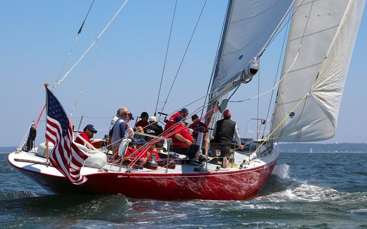 Bank-of-America-Disabled-Veterans-Team-competing-in-Sail-To-Prevail-Belle-Haven-Challenge-Cup-credit-Mary-Alice-Fisher