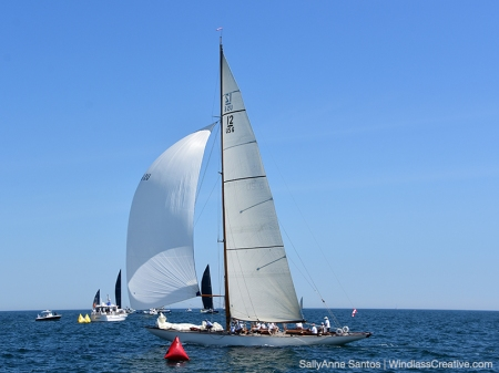 Onawa (US-6) recently won the Vintage Division at the 2019 12 Metre World Championship in Newport, RI