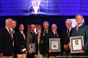 Ida Lewis Yacht Club recieves U.S. Sailing's Stl Petersburg Trophy for best run regatta of the year as voted by participants.
