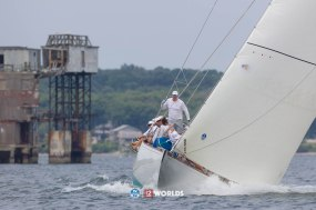 Onawa (US-6) racing at 2019 12mR World Championship, Newport, RI, USA.